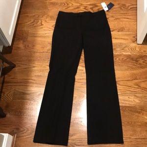 NYDJ stretchy black trouser pants